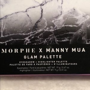 Morphe Makeup - Glam palette eyeshadow's